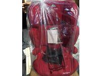 BRAND NEW RED KINDERKRAFT JUNIOR CAR SEAT