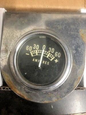 Vintage Amperes Amp Meter W Brackey 822819