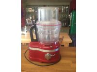 KitchenAid food processor With all attachments barely used