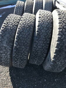 USED 11R24.5 TIRES