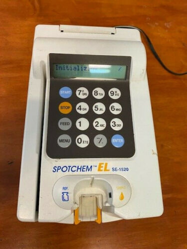 Scil Spotchem EL SE-1520 Electrolyte Analyzer