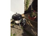Weber Compact 47cm Charcoal Barbecue BBQ Black with cover