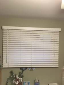 """2"""" Faux Wood Blinds - White"""