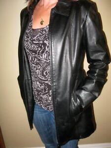 Ladies leather jacket