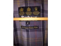 Barbour Men's Black A547 Flyweight Wax Jacket : Size Small : cost £229