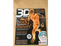 3D World Body Movin Feb 2007 + Free CD