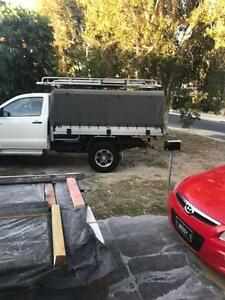 ute canopy and roof rack 2012 SR Hilux Duncraig Joondalup Area Preview