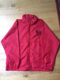 One Red Showerproof Coat