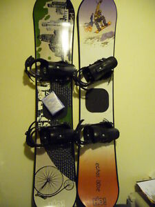 Echos H2O and Morrow Distortion Snowboards & Skis, Boots and Ska