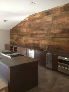 Exclusive! 10% off Reclaimed Wood Accent Wall! Cambridge Kitchener Area image 3