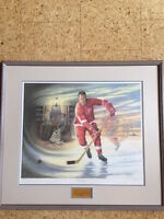 Sports Memorabilia Hockey - Gordie Howe Limited Edition Print