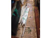 Metal pipes, joblot from gazebo