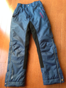Girls Equestrian/Horse Riding Winter Pants **Size Sm 7/8**