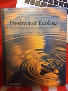 Freshwater Ecology textbooks for sale