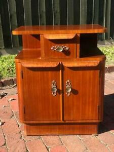 FREE DELIVERY Mid Century Retro chest of drawers bedside table x1