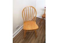 Pine Chairs x 4