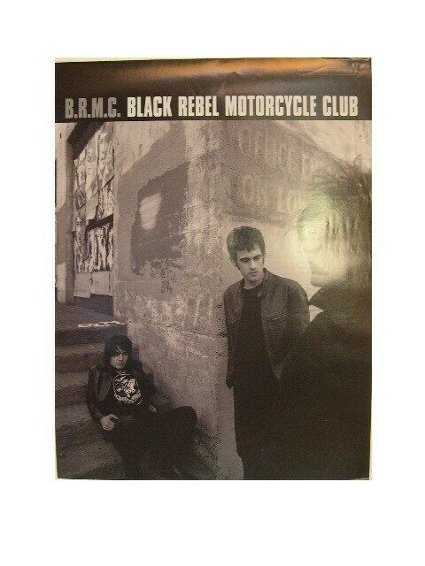 Black Rebel Motorcycle Club Poster B.R.M.C. The