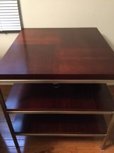 Solid Cherrywood Table - 3 tier