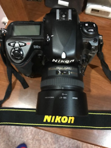 NIKON D2X BODY WITH NIKKOR 50MM AFS 1.4G LENS $800