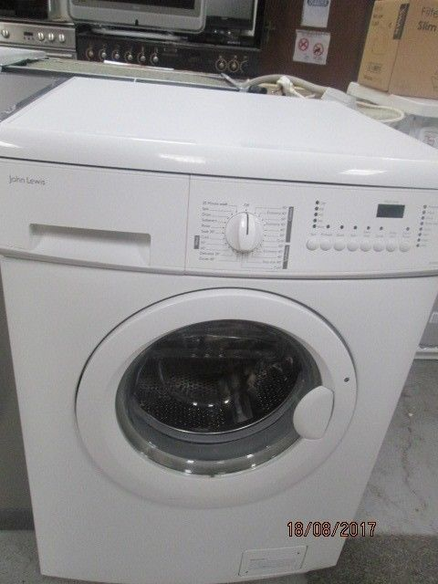 *+JOHN LEWIS-TOP OF RANGE/6KG/WASHING MACHINE/FULLY SERVICE/VERY CLEAN/+FREE FAST DELIVERY+WARRANTY+