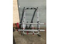 VW T5 FIAMMA Bike Rack, hardly used complete with intructions