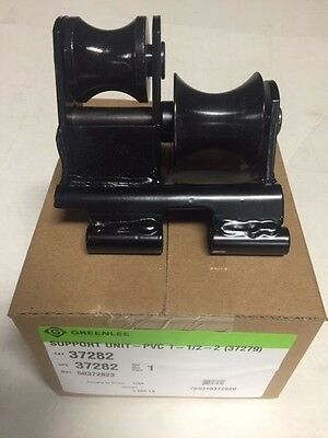 Greenlee 555 Conduit Pipe Bender Pvc Roller 1-12-2 Ridgid Shoe Current Ensley