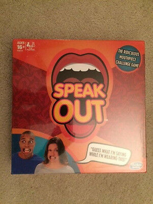 Best Board Games Speak Out With Mouth pieces Cards Timer Family Game Night (Best Games With Friends)