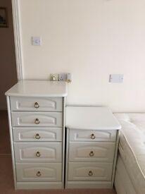 Bedside tables in excellent condition, buyer to collect