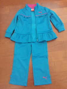 Brand New Puma Girls Track Suit - size 2T