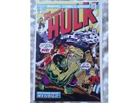 Incredible Hulk 180 reprint. 1st app of Wolverine in cameo
