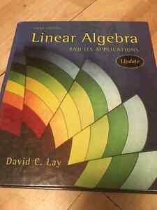 linear algebra david lay David lay introduces these concepts early in a familiar, concrete r n setting,  new mylab mathplus for linear algebra and its applications, 4th edition  lay has been a leader in the current movement to modernize the linear algebra curriculum lay is also co-author of several mathematics texts,.