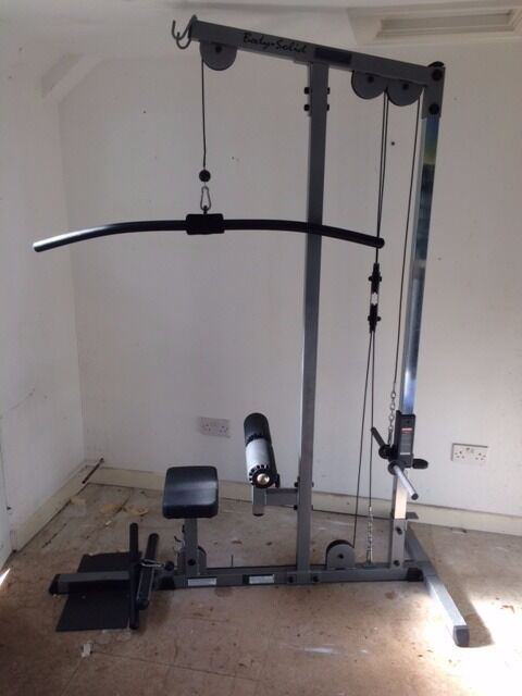 bodymax cf660 lat pulldown and low pulley in plymouth devon gumtree