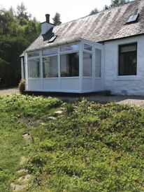 Stunning Location Overlooking Loch Ness 1 bed traditional holiday cottage offers over £195,000