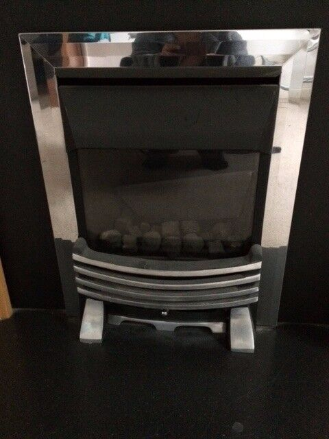 Gas fire free to collect