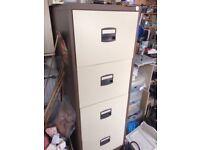 4 drawer metal cabinet