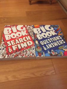 BIG BOOK OF SEARCH & FIND,  BIG BOOK OF QUESTIONS & ANSWERS