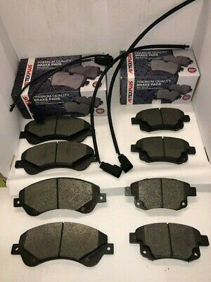 Front & Rear Brake Pads Fits Ford Transit MK7 2006-2014..FWD 260,280,300 Models