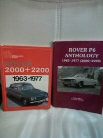 rover p6 books