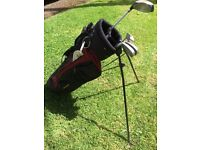 Children's Golf Bag with clubs