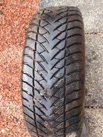 Goodyear ultra grip snow tyres