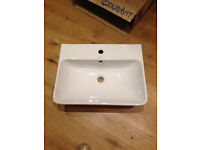 Hand basin - Duravit ME by Starck 600mm x 480mm NEW (in box)