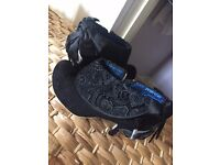 Irregular Choice Size 8 Black Lace Ankle Boots