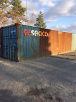 40' USED SHIPPING/STORAGE CONTAINER