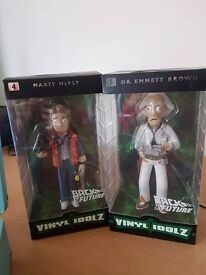 Back to the future vinyl idolz Dr Emmett Brown and Marty McFly