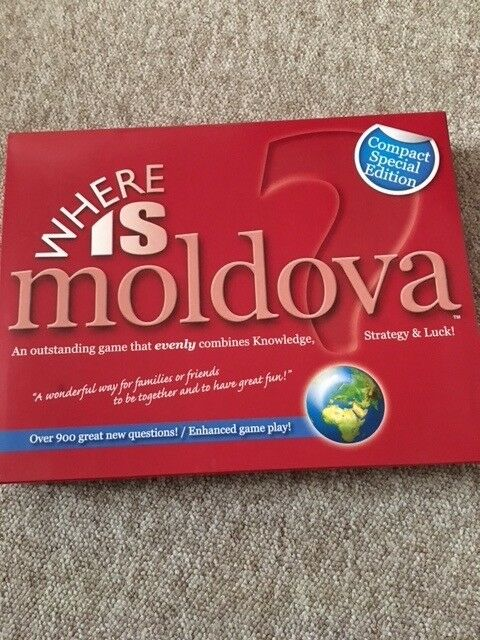 Where Is Moldova Board Game In Clifton Bristol Gumtree - Where is moldova