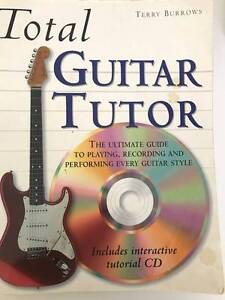 Total Guitar Tutor by Terry Burrows includes CD Westmead Parramatta Area Preview