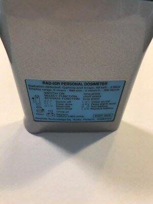 Personal Radiation Alarming Dosimeter Rados Rad60