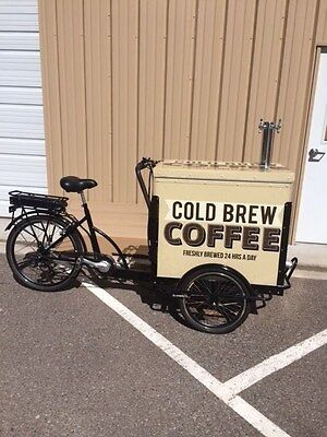 Cold Brew Coffee Vending Bike (NEW. ELECTRIC)