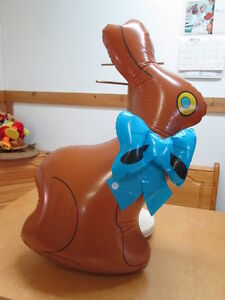 BLOW UP CHOCOLATE BUNNY