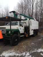 Bucket truck / forestry truck *tree removal, make $